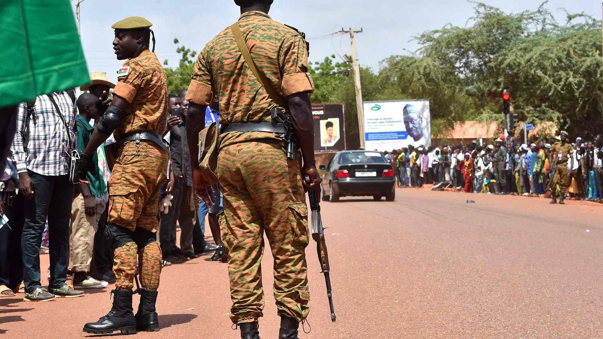12 killed in Burkina Faso terrorist attack