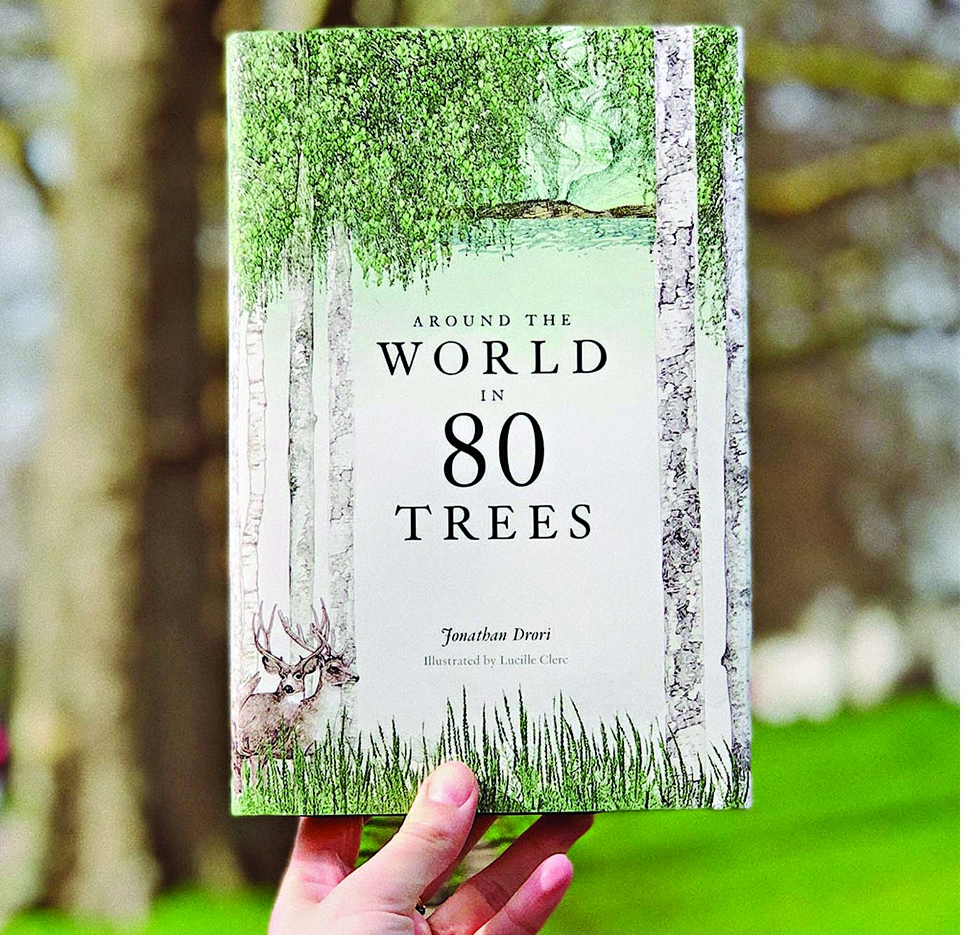 'Around the World  in 80 Trees' by Jonathan Drori