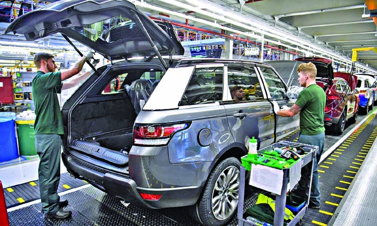 Car industry malaise drags down UK GDP growth to 0.3%