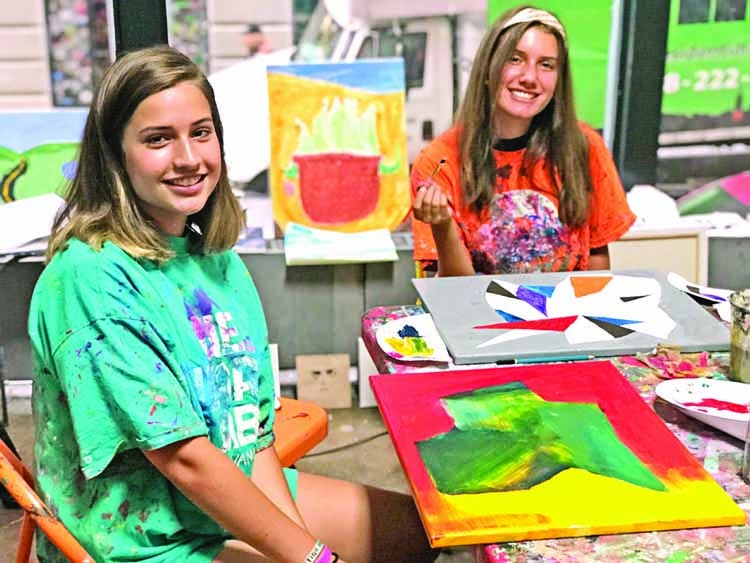 Nurturing your teen's artistic  expression