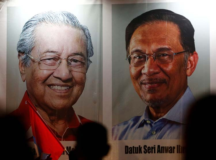 Bumps in Malaysia's planned political transition