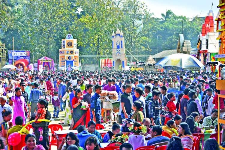 Sharaswati Puja celebrated amid festivity at DU