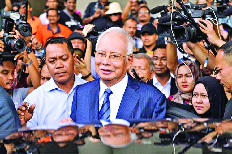 Malaysia's toppled leader Najib to go on trial over 1MDB scandal