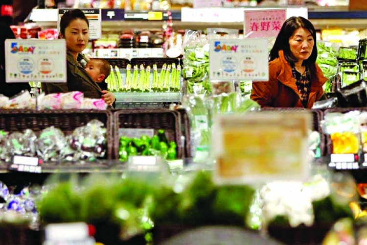 Japan's household spending rise