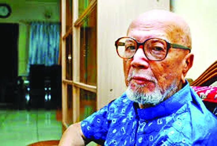 Poet Al Mahmud at ICU
