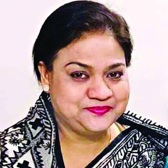 Syed Ashraf's sister elected