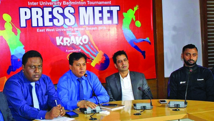 Pran Krako Inter-University Badminton begins on Friday