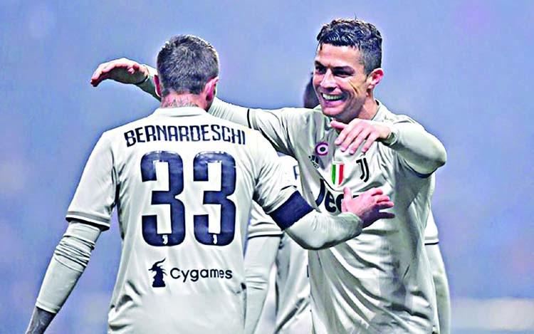 Ronaldo strikes again as Juventus extend lead