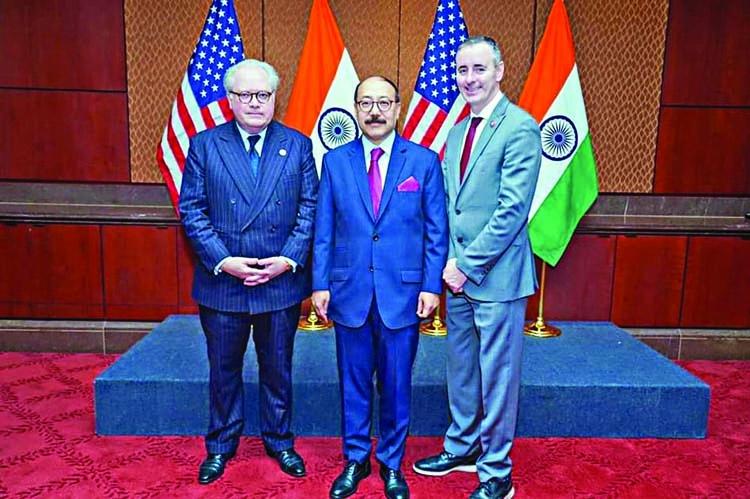 Congressional reception to welcome Harsh V Shringla
