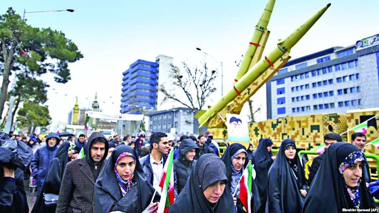 Iran marks 40th anniversary of Islamic revolution