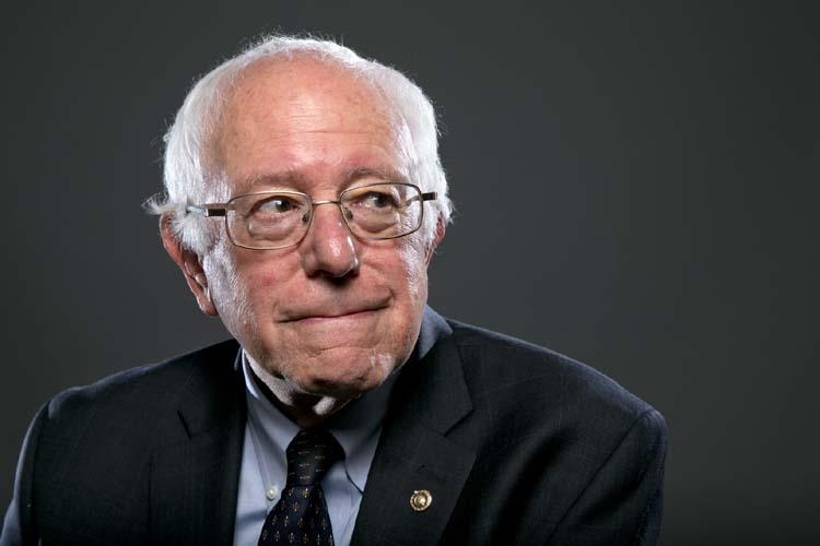 The harbinger of America's change: reconfigured, Bernie Sanders!