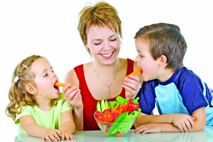 Instilling good habits in a picky eater