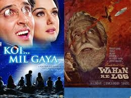 'Koi Mil Gaya' was not the first Hindi film based on aliens