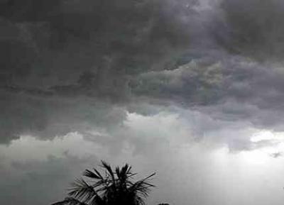 Rain, thunder showers likely