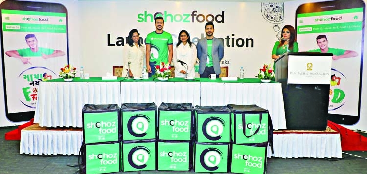 Shohoz launches food delivery services with 1000 restaurants
