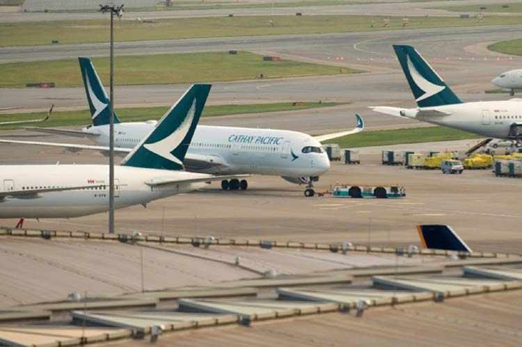 Hong Kong's Cathay Pacific back to profit after 2 years in red