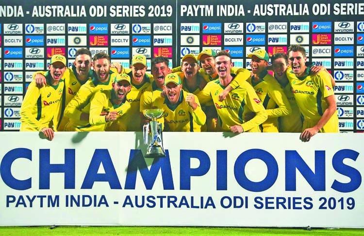 Aussies seal ODI series against India