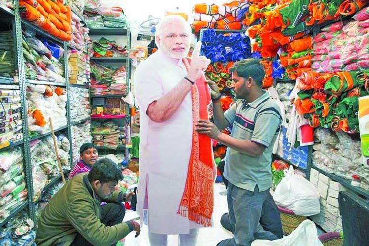 Modi in 29-tweet pre-election blitz