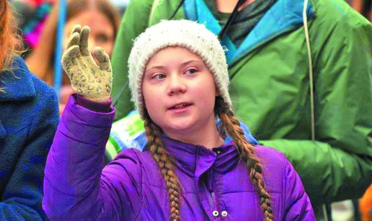 Teenage climate activist nominated for Nobel Prize