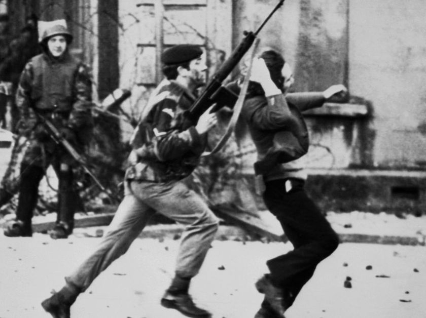British ex-soldier charged with 1972 'Bloody Sunday' killings