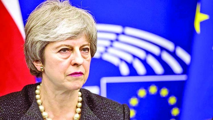 Theresa May's divorce deal back from the dead