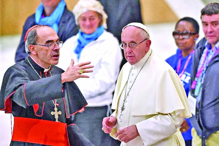 Convicted French cardinal Barbarin to meet Pope Francis