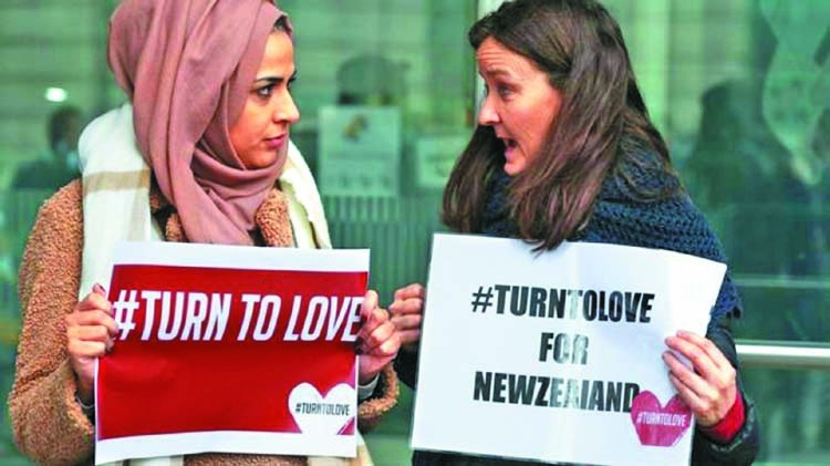 Outpouring of support from UK after New Zealand attack