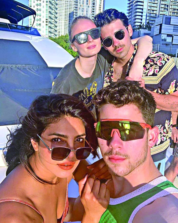 Priyanka is holidaying in Miami with Nick