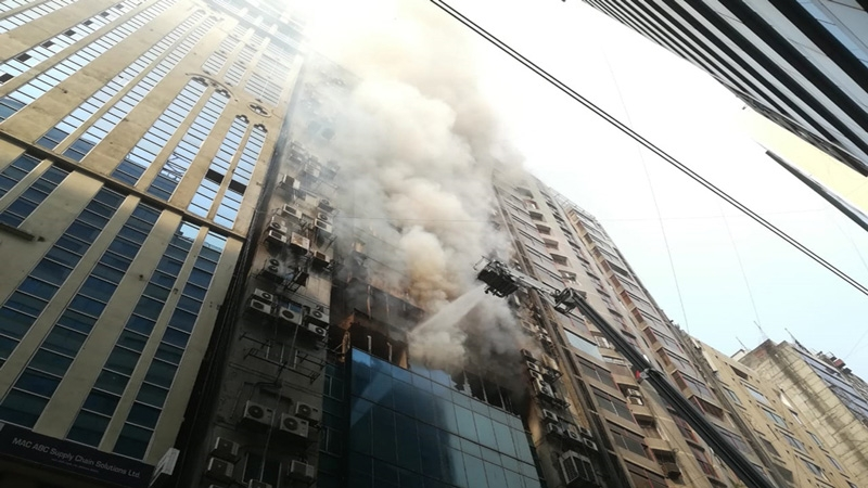 Banani fire survivors narrate tales of horror