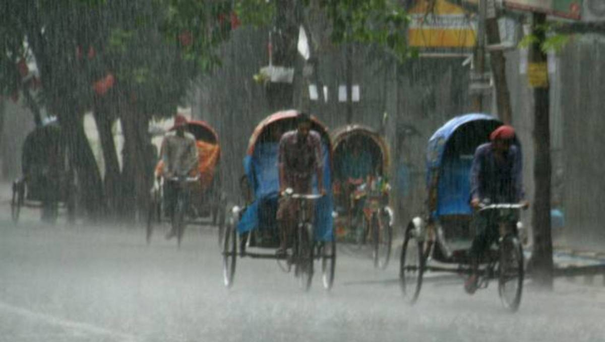 Met office forecasts rain across country