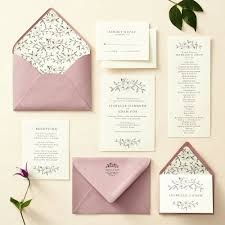 Invitations today reflect varying styles of celebrations