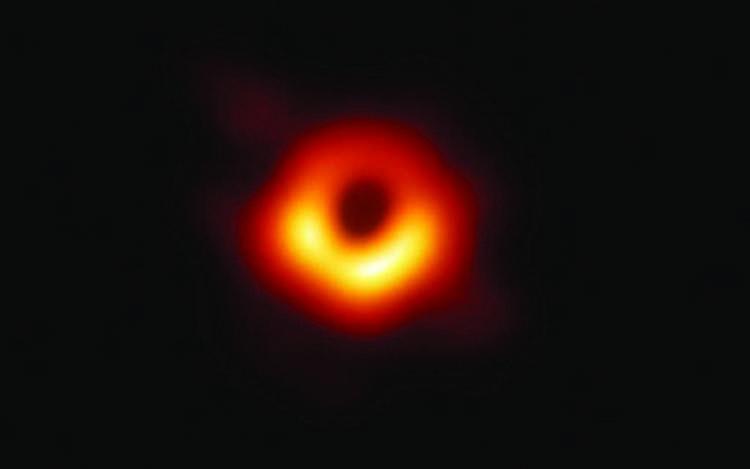 Black hole captured
