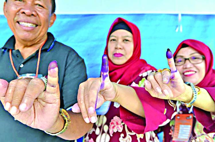 Muslim-majority Indonesia set for polls