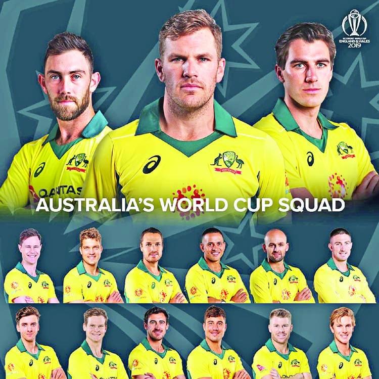 Aussie's WC squad announced