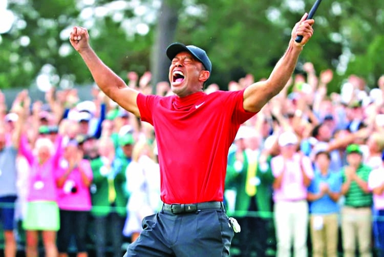 Tiger Woods completes a Masterpiece of a comeback