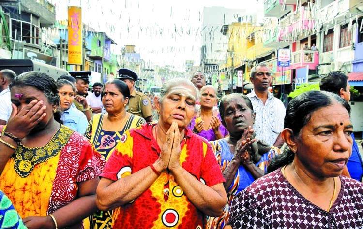 With churches shut after bombs, SLs hear Mass on TV | The Asian Age