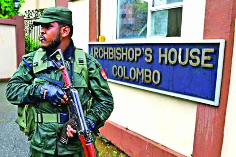 Sri Lanka Catholics turn to TV mass amid bomb threat | The Asian Age
