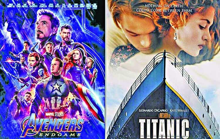 'Avengers' blast past 'Titanic'