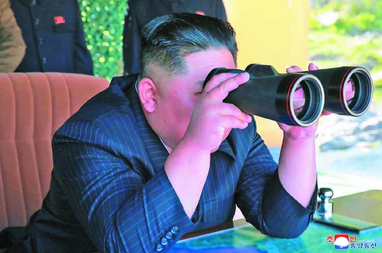 North Korea's Kim orders stronger strike power