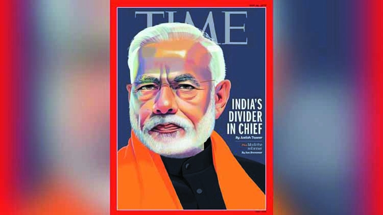 Time magazine calls Modi 'Divider in Chief'