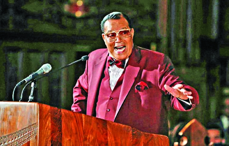 After Fb ban, Farrakhan denies hating Jews
