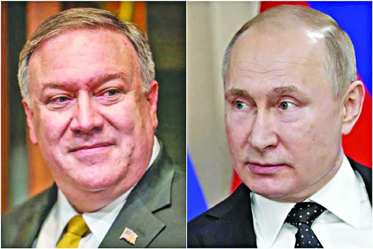Pompeo to meet Putin as Trump seeks better ties