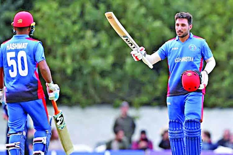 Rahmat ton helps Afghanistan to narrow win