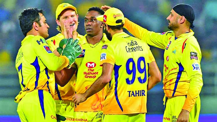 Openers lead CSK to 8th IPL final