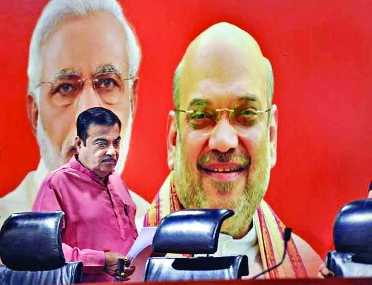 BJP can never be a party of Modi-Shah: Nitin Gadkari