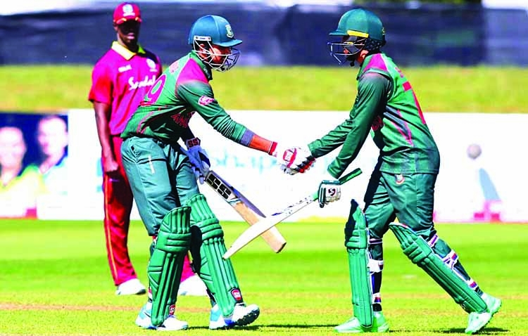 Bangladesh storm final in style