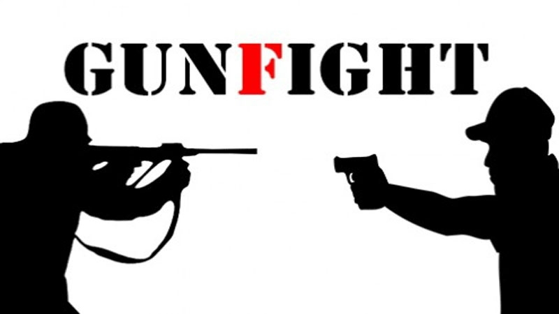 5 killed in gunfights