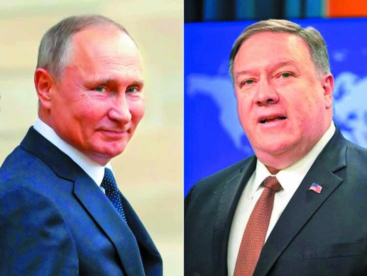 Putin meets Pompeo as US seeks 'a way forward' in ties
