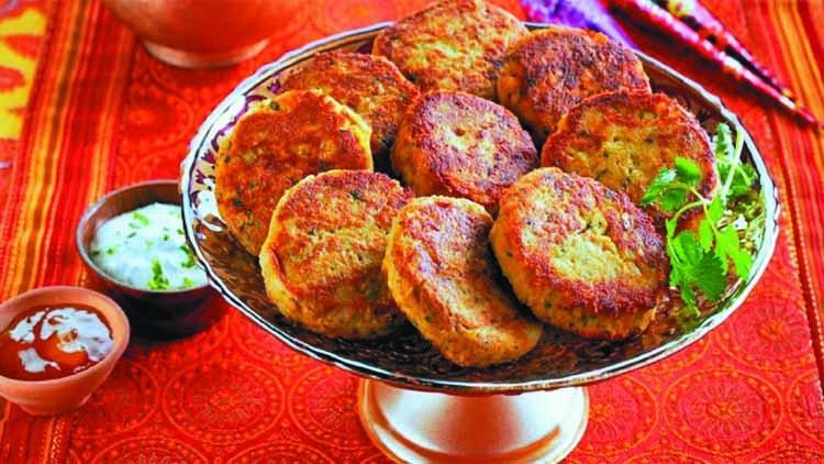 Chicken shaami kebab