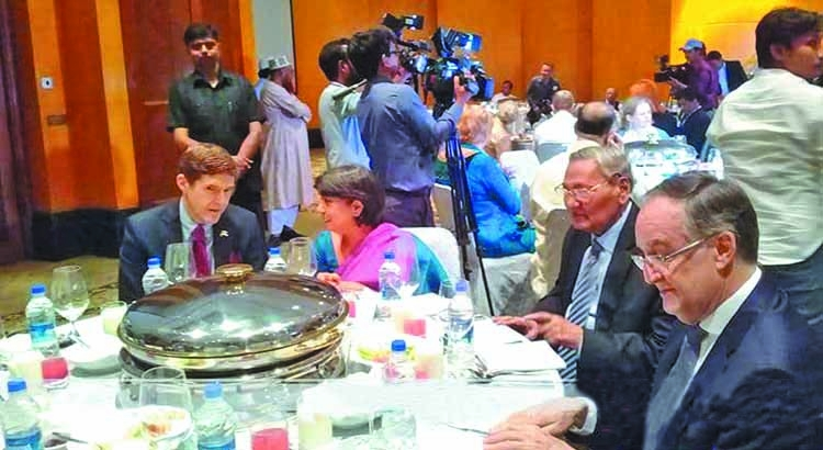 BNP hosts iftar party for envoys